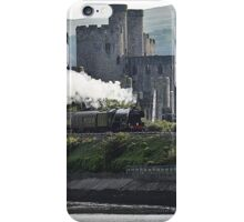 Flying Scotsman,Conwy Castle iPhone Case/Skin