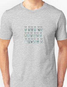 Beetle bottles Unisex T-Shirt