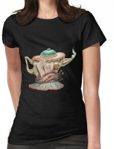 Tea hat from M. Hatter Womens Fitted T-Shirt