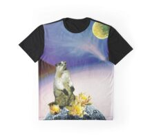 Soul Searching Hampster Graphic T-Shirt