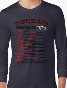 This tall to ride Zombieland Long Sleeve T-Shirt