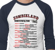 This tall to ride Zombieland Men's Baseball ¾ T-Shirt