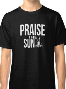 Praise the sun - white Classic T-Shirt