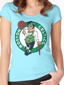Boston Celtics Women's Fitted Scoop T-Shirt