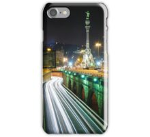 Barcelona`s night. iPhone Case/Skin
