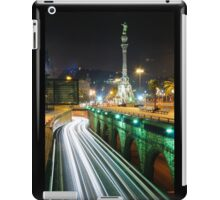 Barcelona`s night. iPad Case/Skin