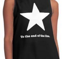 To the end of the line. Captain America Inspired  Contrast Tank