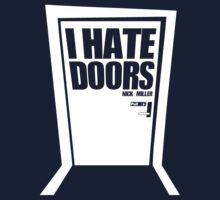 Nick Miller Hates Doors by RumShirt