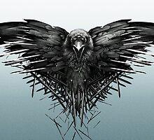 Three eye crow by Cyntain
