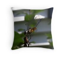 Dragonfly09 Throw Pillow