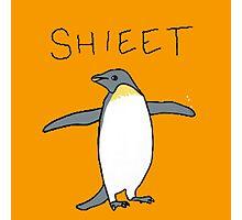 shieet a penguin Photographic Print