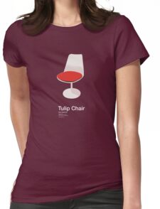 Tulip Chair /// Womens Fitted T-Shirt