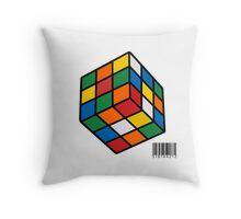 Just Rubik Throw Pillow