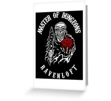 Master Of Dungeons Greeting Card