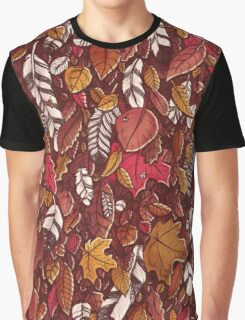 Leaves color red Graphic T-Shirt