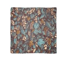 Leaves color blue Scarf