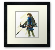 Link zelda breath of the wild Framed Print