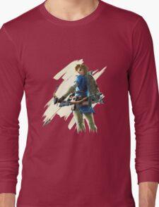 Link zelda breath of the wild Long Sleeve T-Shirt