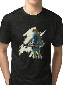Link zelda breath of the wild Tri-blend T-Shirt