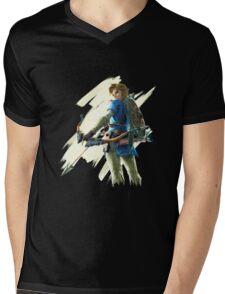 Link zelda breath of the wild Mens V-Neck T-Shirt