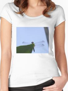 Dragonfly013 Women's Fitted Scoop T-Shirt