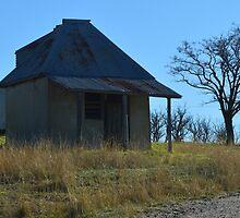 Lonely Little Hut by Judy Woodman