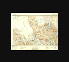 USGS TOPO Map Alaska AK Skagway 361447 1952 250000 Unisex T-Shirt