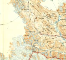 USGS TOPO Map Alaska AK Skagway 361447 1952 250000 Sticker