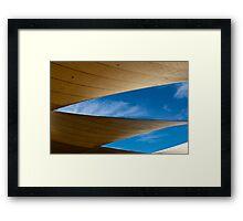 Shade Sail 2 Framed Print