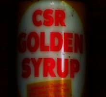 Golden Syrup Phone Case by Andrew Turley