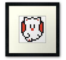 Pixel Moguri Framed Print