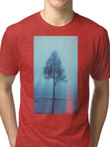 Tree, reflection and triangle... Tri-blend T-Shirt