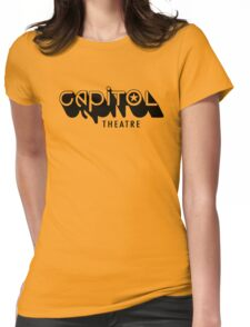 Capitol Theatre (black) Womens Fitted T-Shirt