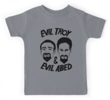 Evil Troy And Evil Abed Kids Tee