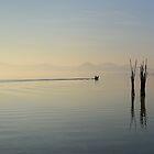 An Early Start, Castiglione del Lago, Lago Trasimeno, Umbria, Italy by Andrew Jones