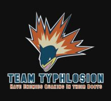 Team Typhlosion  by Kyokips Illustrations