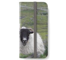Hebridean black faced sheep iPhone Wallet/Case/Skin