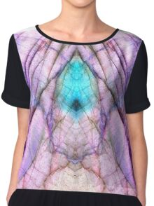 When counting blessings, angels attend. Chiffon Top