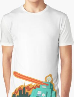 Giant robot... just another monday Graphic T-Shirt