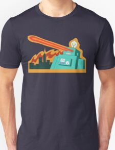 Giant robot... just another monday Unisex T-Shirt