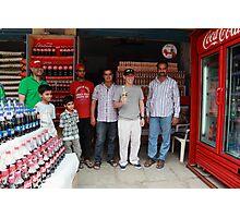 Coca Cola Shop Golconda Photographic Print