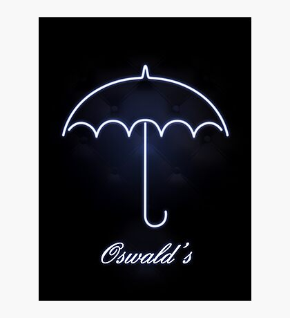 Gotham Oswald's night club Photographic Print