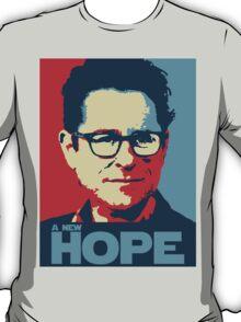 JJ Abrams Hope - In JJ We Trust T-Shirt