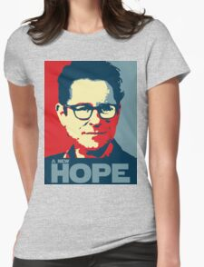 JJ Abrams Hope - In JJ We Trust Womens Fitted T-Shirt