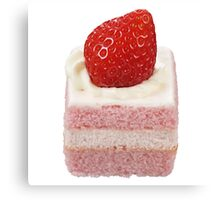 Strawberry Shortcake Canvas Print
