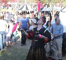 Juggler at Medieval Fayre by JimmyChi