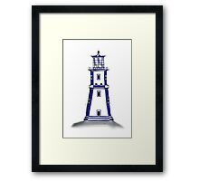 lighthouse 11, tony fernandes Framed Print