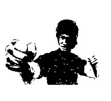 Bruce Lee Fist by Floris155