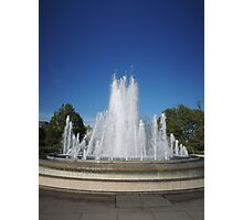 Dancing Water (Copenhagen) Photographic Print