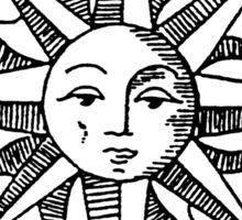 Sun Compass Sticker